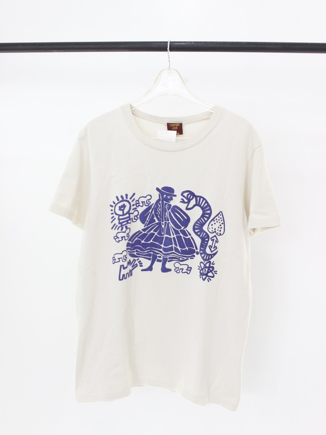 Used Vivienne Westwood Words end Witches Tee