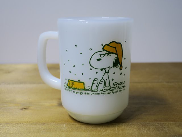 Fire King 9オンスマグ SNOOPY FRENCH TOAST