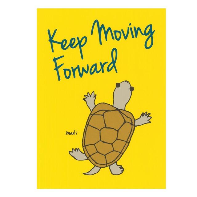 Keep moving forward(yellow)