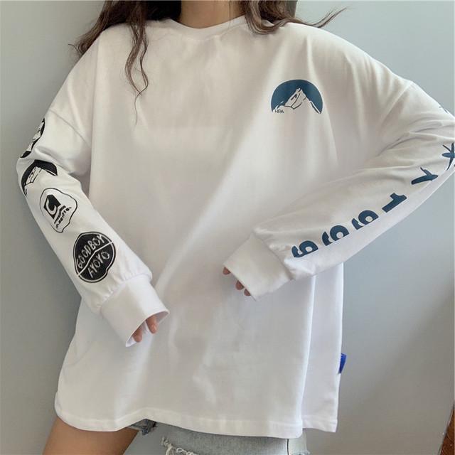 《即納》ロングスリーブロゴTシャツ