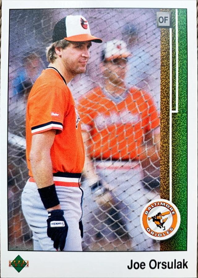 MLBカード 89UPPERDECK Joe Orsulak #429 ORIOLES