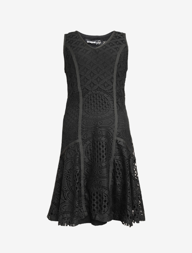 DESIGAL BY  MONSIEUR LACROIX LACE DRESS