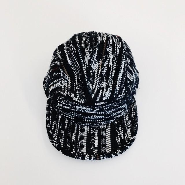 KUON 裂き織りWork Cap #2
