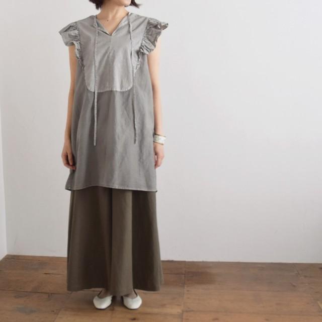 【30%off price】コズミックワンダー COSMIC WONDER シルク/コットン リボン シャツ  Beautiful silk cotton ribbon shirt 11CW04008