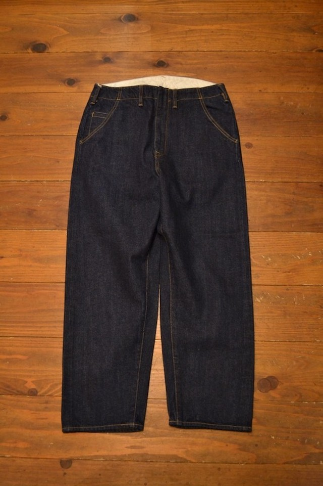 bukht / NEW BIG DENIM -13oz salvage denim-