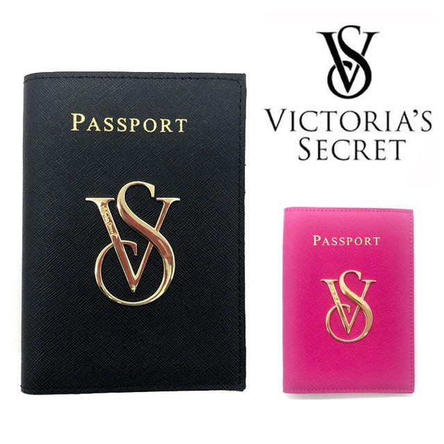 VICTORIAS SECRET ヴィクトリアシークレット ビクシー パスポートケース