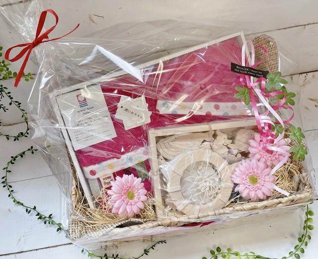 おくりもの屋 オリジナルギフトボックス (ピンク)