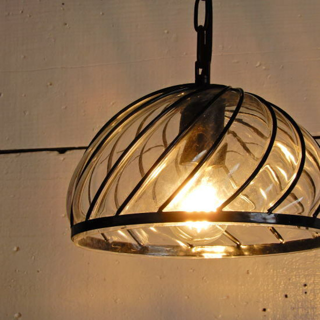 TOPANGA Lighting ブロウキャップガラスランプ