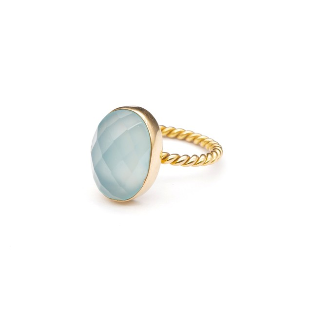 SINGLE STONE NON-ADJUSTABLE RING 007