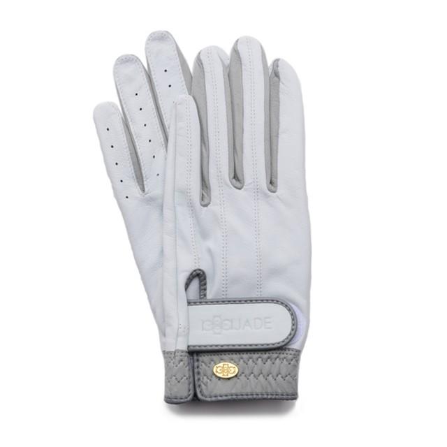 Elegant Golf Glove white-grey