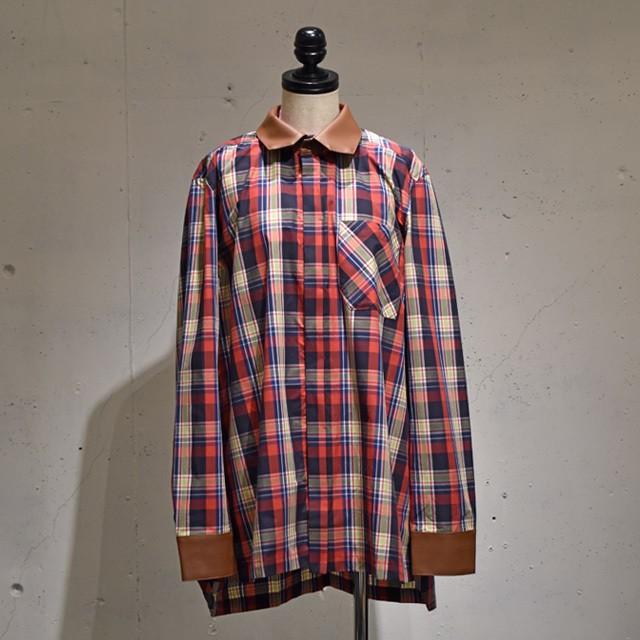 -niitu- / Check Shirt / Red