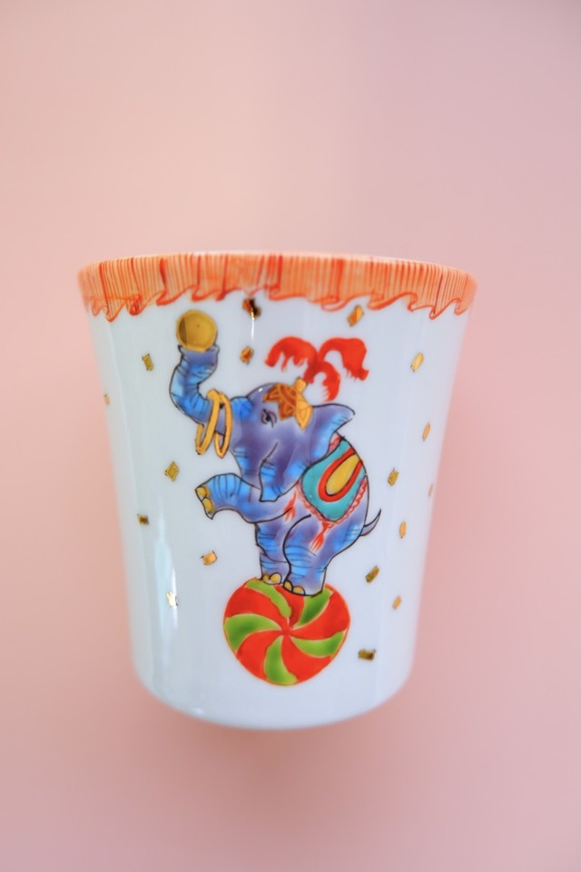 elephant circus / free cup