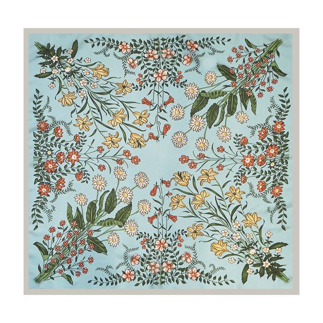 SCURF - BOTANICAL FLOWER - ORANGE&YELLOW
