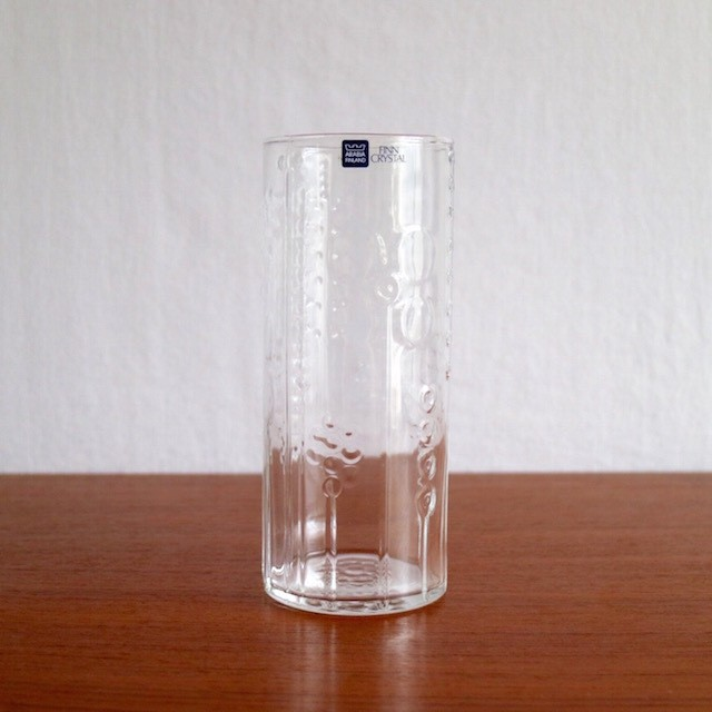 Nuutajarvi Arabia Highball Tumbler Clear A