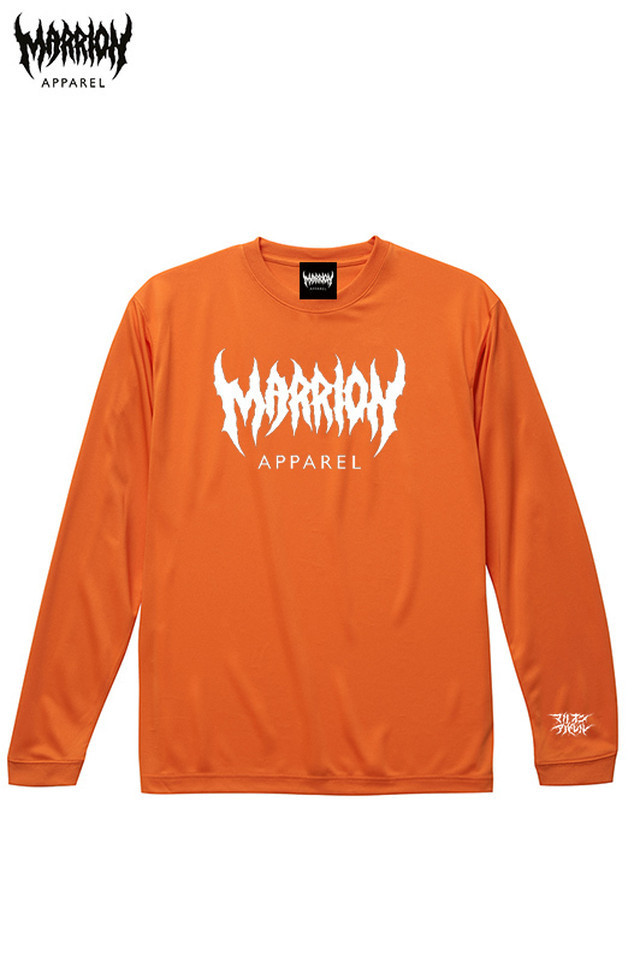 MARRION APPAREL Logo Dry Silky Touch Tee LONGSLEEVE (3color)