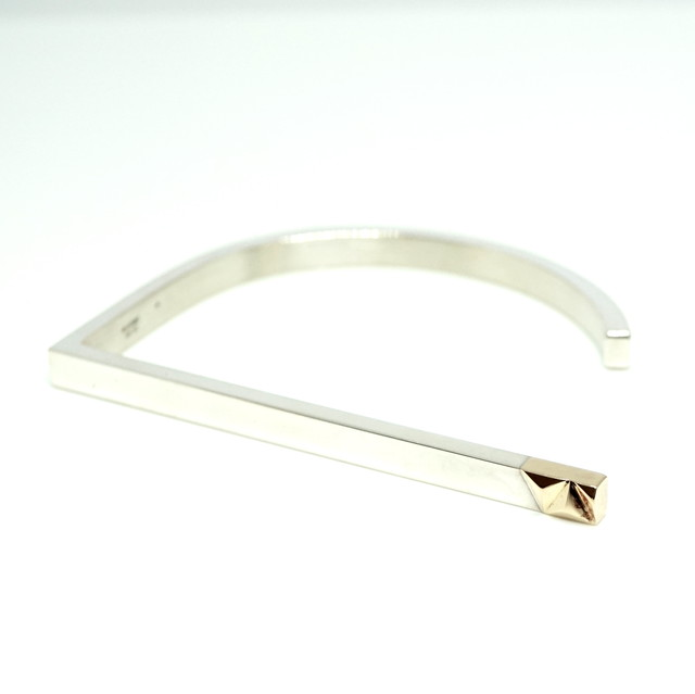 combination bar bangle - SV