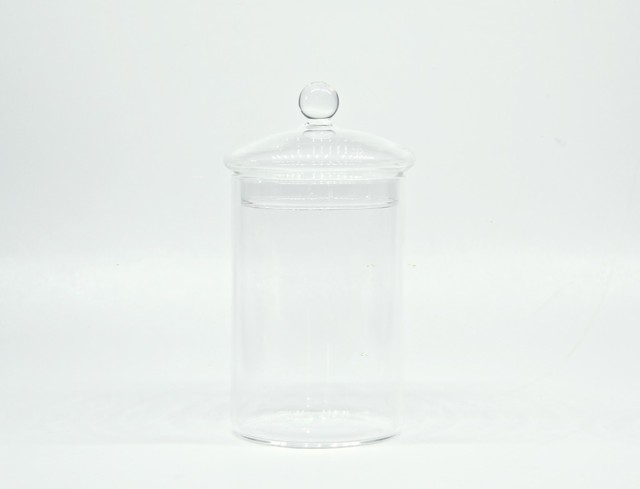 クローズドテラリウム用ガラスキャニスター(M-size)《苔テラリウム・コケリウム用》