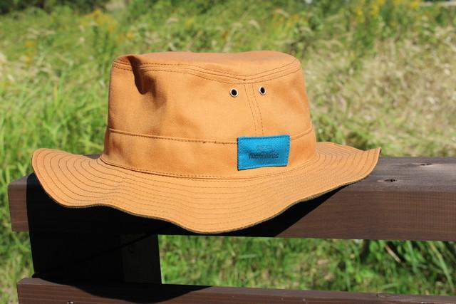 ハット帽 (ターコイズブルー)弱撥水生地
