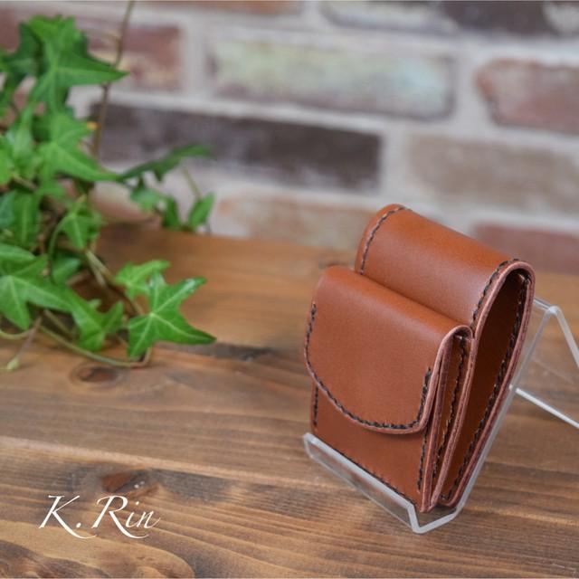 【オーダーメイド制作例】小さな 小さな 2つ折り財布