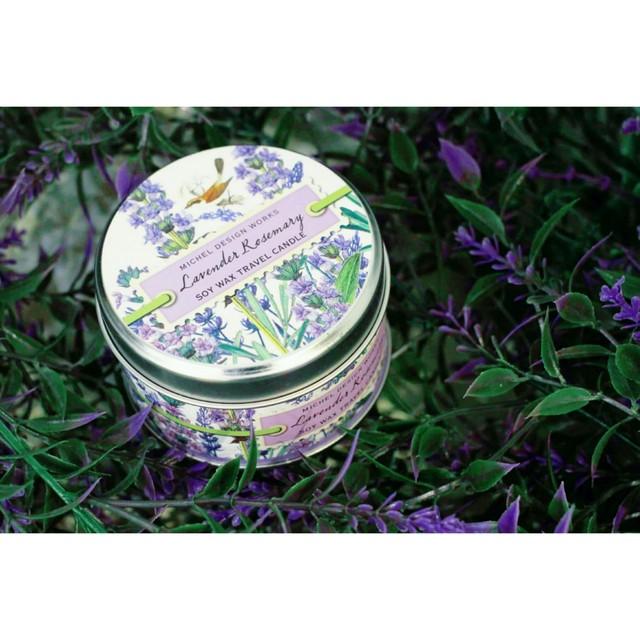 Lavender Rosemary Michel Design Works アロマキャンドル /ギフトにお勧め♪ トラベルキャンドル