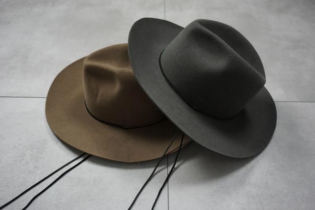 ASKYY / LONG BRIM HAT -2021-