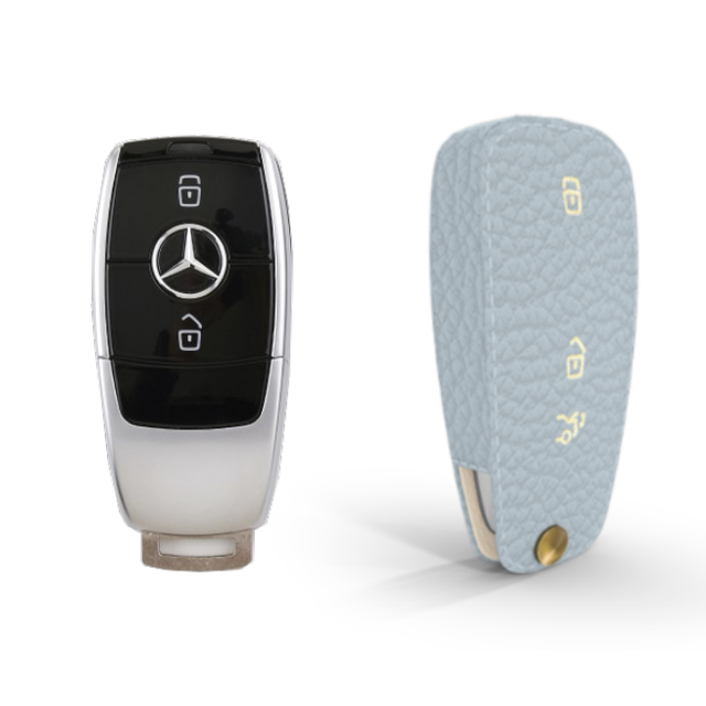 Mercedes Benz 専用 TypeC-1 Car Key Case Shrink Leather Case