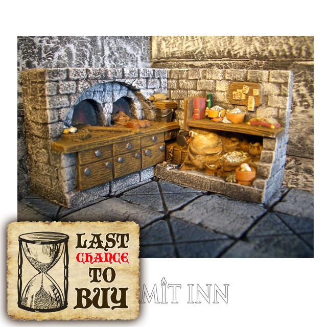 パン焼き釜と調理台 - メイン画像