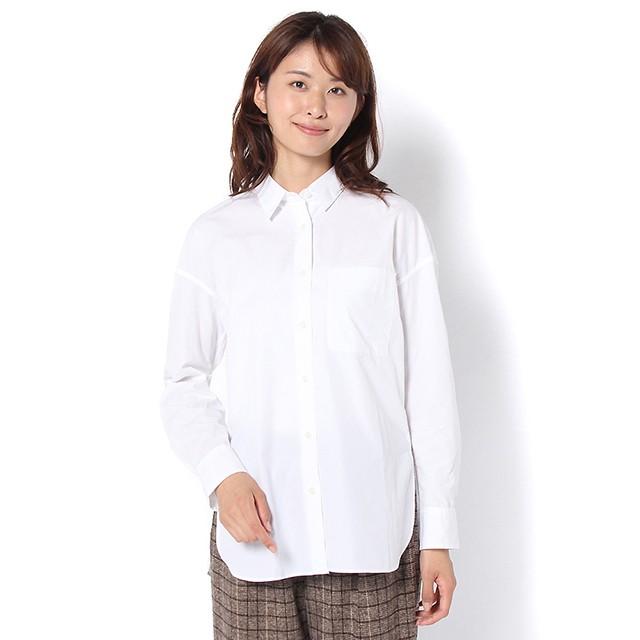 コットンシャツ (ホワイト) 4994404