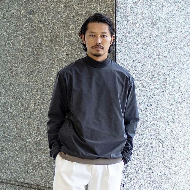 COLONY CLOTHING / TECH MOCK NECK SHIRT / CC20FW-T03(SALE)