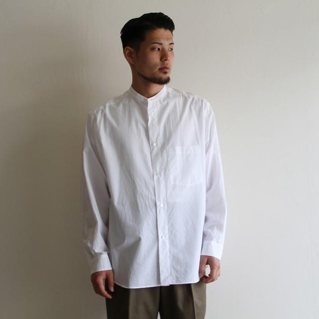 STILL BY HAND【mens】w-pocket bd shirts