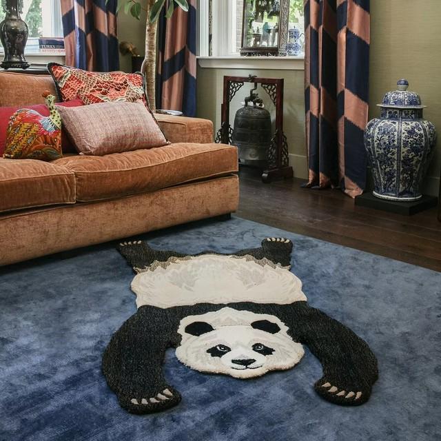 Plumpy Panda Rug Large