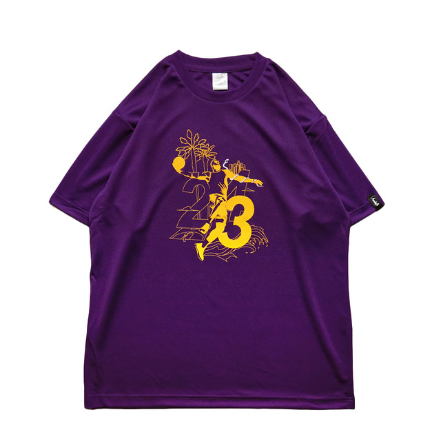 Los Angeles S/S PL <Purple×G.Yellow×White> - メイン画像