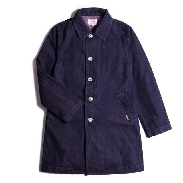 DENIM T-SHIRT FADED INDIGO【デニムTシャツ】
