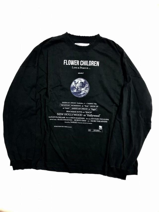 "【DAIRIKU】""Earth"" Tshirt L-S Tee"
