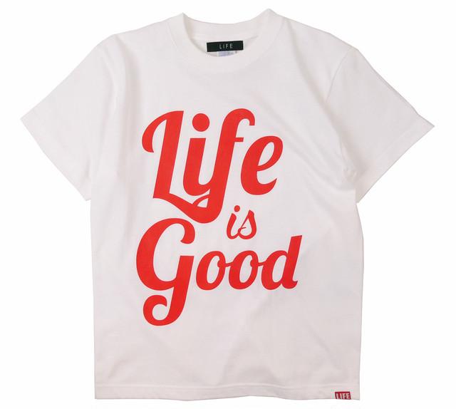 LIFEisGOOD S/S TEE