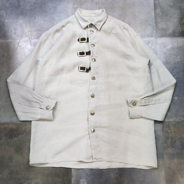 belt design Tyrolean shirt