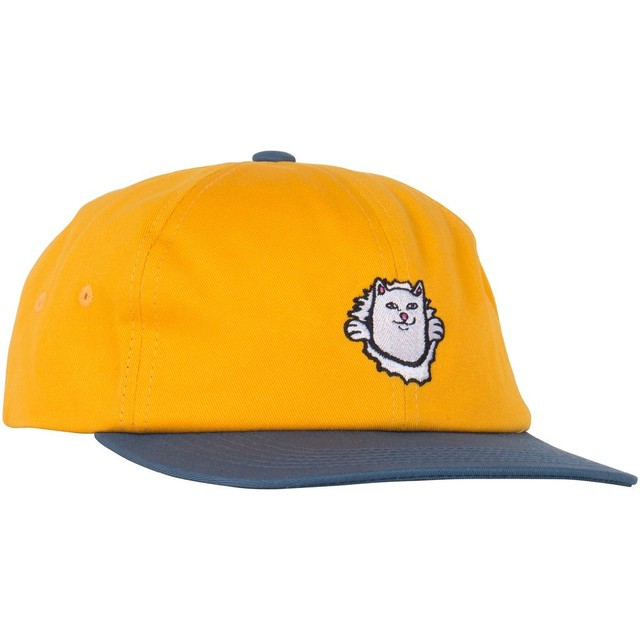 RIPNDIP Nermamaniac 6 Panel (Blue / Gold)