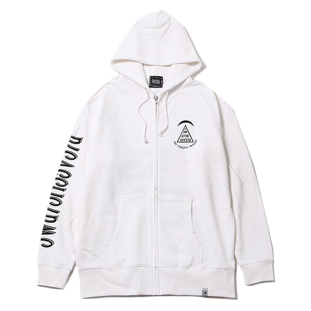 【SILLENT FROM ME】 DREAMS -Ziphood -WHITE