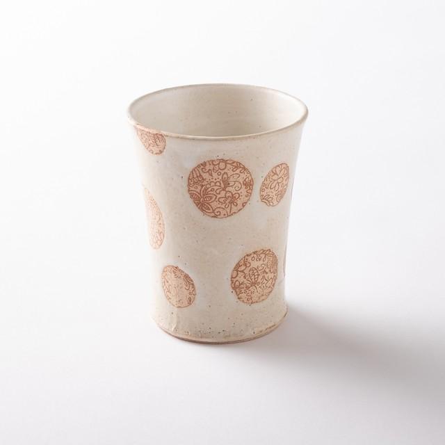 【美濃焼】焼酎カップ「SARASA  L 白」