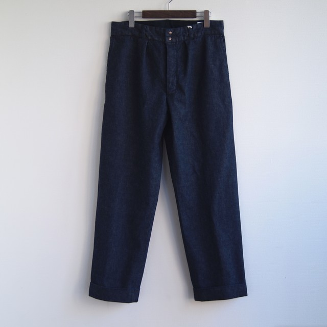FUJITO / WIDE SLACKS[INDIGO]