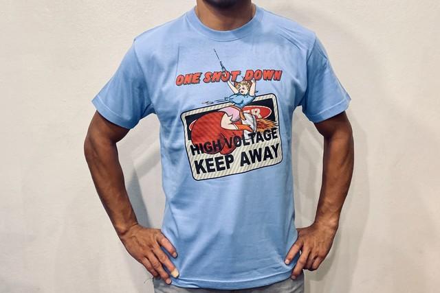 ONESHOTDOWN グラフィックTシャツ『カウガール』