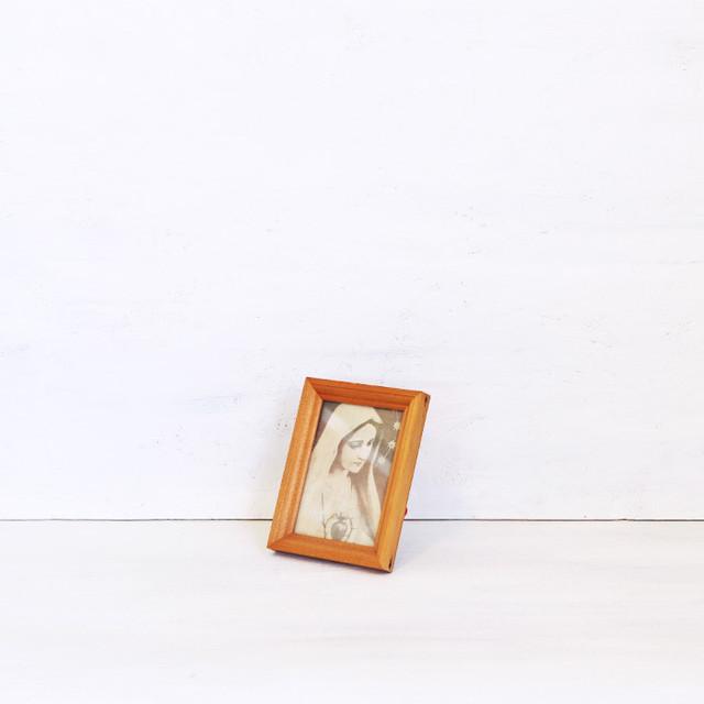 【R-481】マルベル堂 木製ミニ額 マリア入り