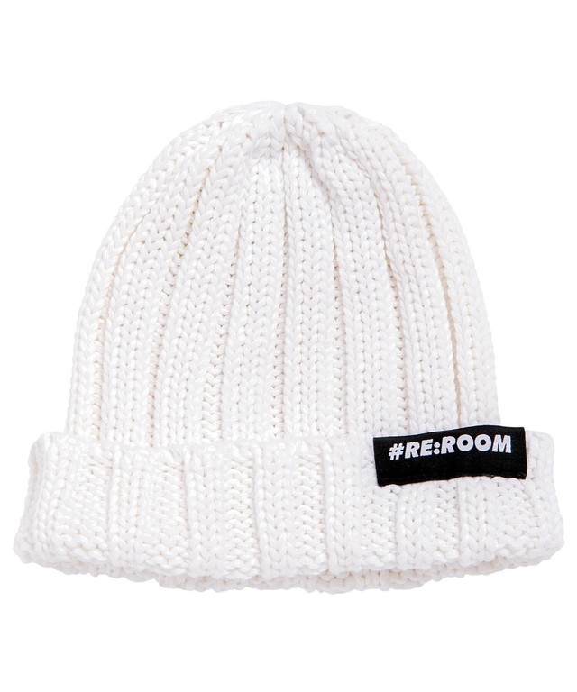 LOGO COTTON KNIT CAP[REH101]