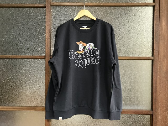 TOY STORY RESCUE SQUAD SWEAT (CHARCOAL GREY)