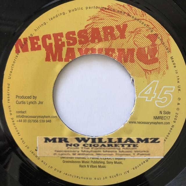 Mr. Williams - No Cigarette【7-20652】