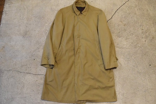 USED 50-60s Abercrombie&Fitch Balmacaan Coat -R46 0888
