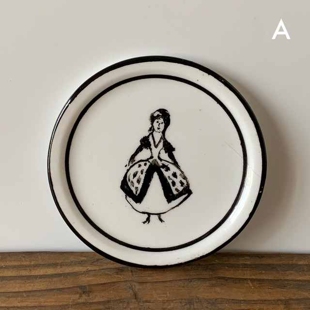 Hand Painted Small Plate A