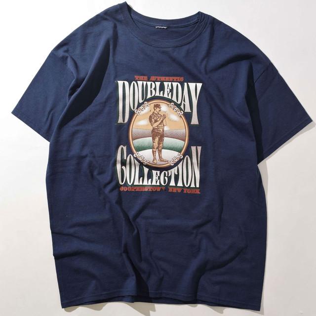 【XLサイズ】DOUBLEDAY ダブルデイ COLLECTION TEE 半袖 Tシャツ NAVY ネイビー 400601200102