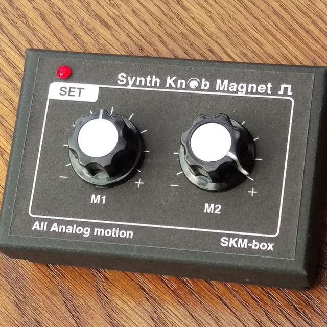 【ケース&マグネット】SKM-box Synth Knob Magnet