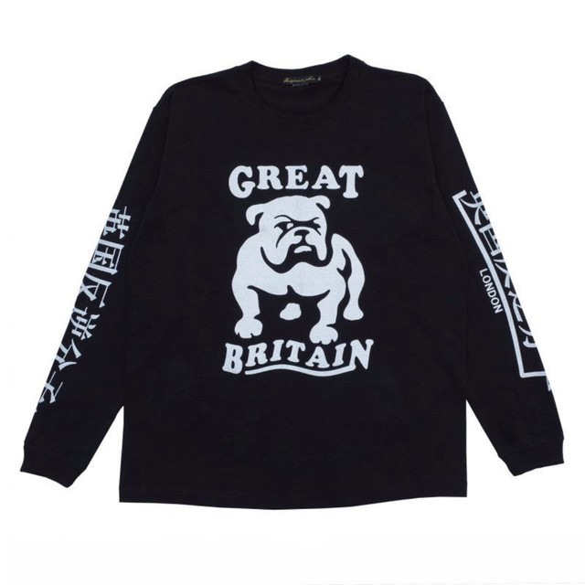 Original John | BULLDOG L/S - Black  [CT383]